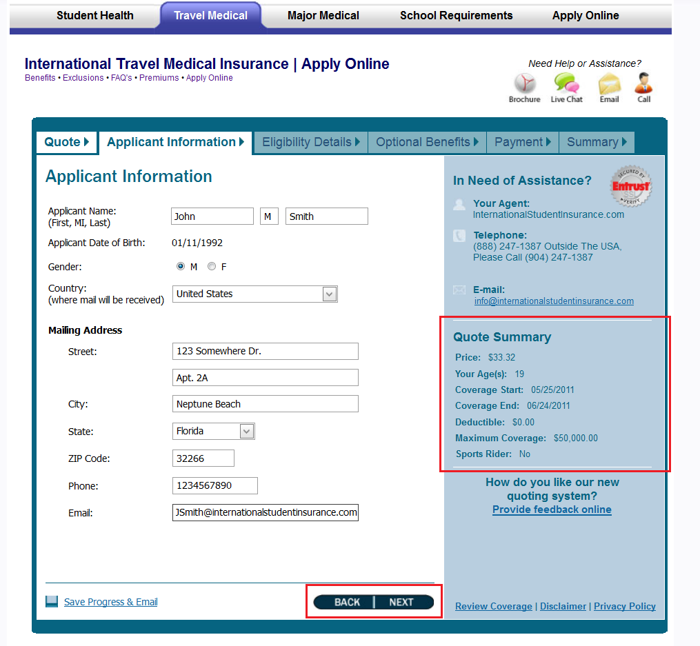New Atlas International Travel Medical Insurance Online