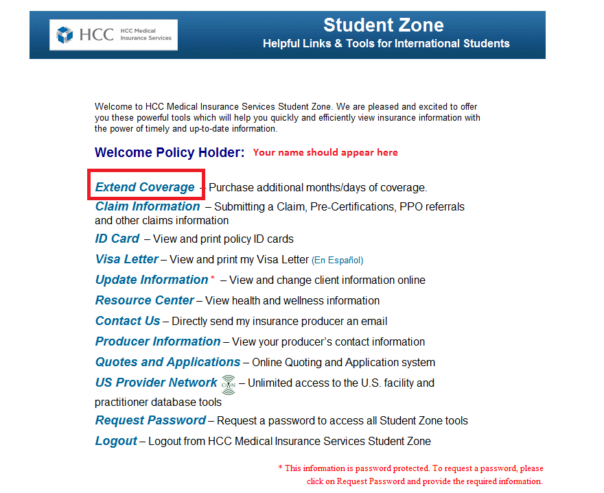 How To Renew Or Extend Your Student Secure Plan International