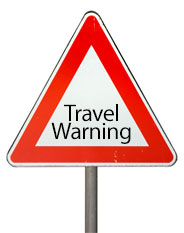 September 2014 Travel Warnings
