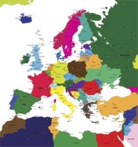 Europe _ map 164568338