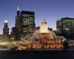 chicago fountain 71261085